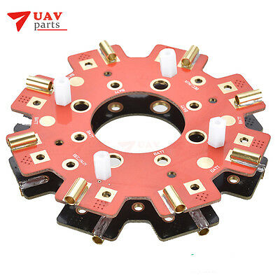 DYS RC Model 300A Power Distribution Board 8 ESC/Motor PCB Board for Multicopter
