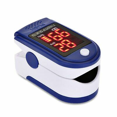 XTECH FDA Finger tip Pulse Oximeter Blood Oxygen meter SpO2 Heart Rate Monitor