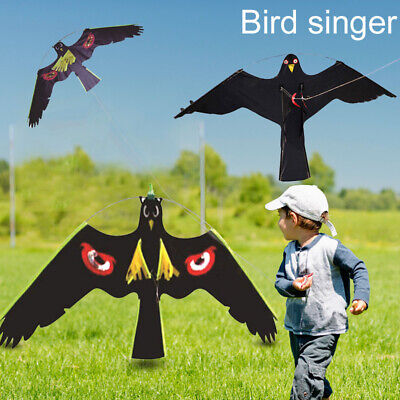 Bird Scarer Repeller Flying Hawk Kite Kit for Garden Scarecrow Yard Decoration