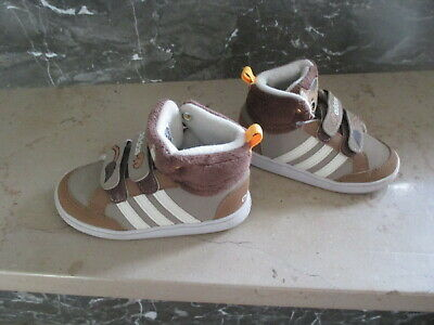 to buy elegant shoes free delivery ADIDAS GR 22 Neo Hoops Animal Bär Sportschuh Hoch Schuh ...