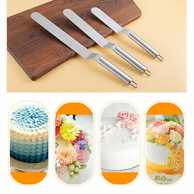 Butter Cake Cream Spatula Smoother Icing Spreader Fondant Pastry Cutter Luxury