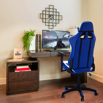 Profesional Silla de Juego,Oficina Computer Gaming Chair Sillas PU leather;nylon