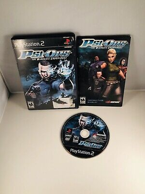Psi-Ops: The Mindgate Conspiracy (Sony PlayStation 2, 2004) Tested Complete CIB