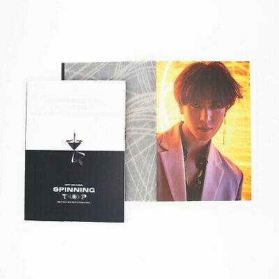 [GOT7]SPINNING TOP Album/Eclipse/Insecurity Photobook-Yugyeom Page/No photocard