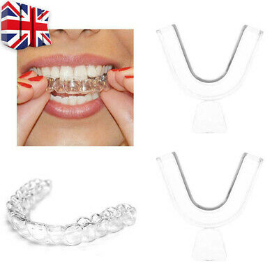 2x Teeth Whitening Mouth Trays Guard Thermo Gum Shield Tooth Bleaching Grinding