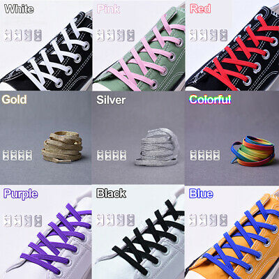 Elastic Lock Shoe Laces Shoelace Triathlon Running Trainers Boots Elasticated A