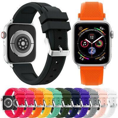 Recambio Correa Reloj Pulsera Silicona deportes Para Apple Watch Series 4 44MM