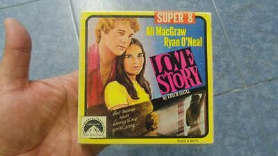 LOVE  STORY  PELÍCULA-SUPER 8 MM-1 x 60 MTS, RETRO-VINTAGE FILM
