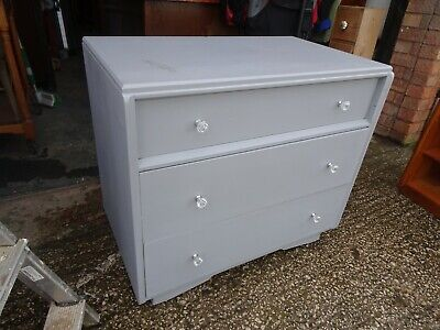 Upcycled Mid Century E Gomme G Plan 3 Drawer Chest of Drawers