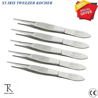 Chirurgical Iris Pince Kocher Tissue Coton Pansement Pince Outils Chirurgie