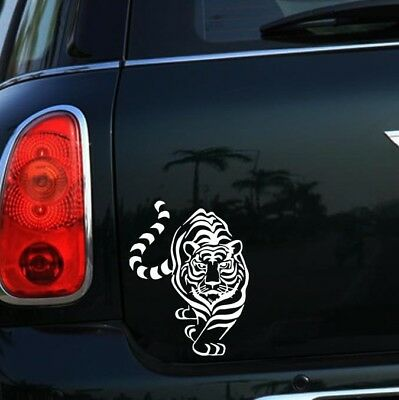 tiger Sticker Car Bumper Van Window Laptop JDW VINYL Decals Stickers