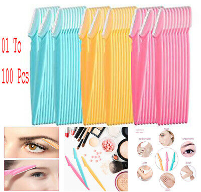 Eyebrow Razor Facial Hair Remover Safety Trimmer Shaper Multi Pack Dermaplaning
