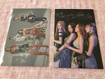 BLACKPINK Kill This Love - YG Select Postcard Set With Signatures