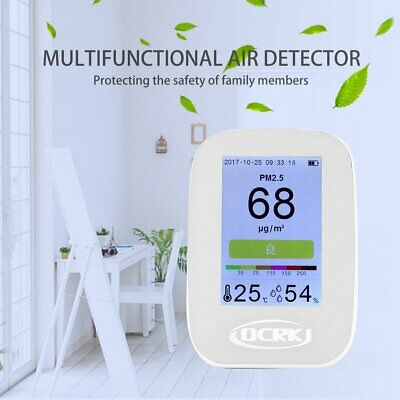 3.5 inch PM2.5 Detector LCD Digital Air Quality Monitor PM2.5 Detector Tester ZB