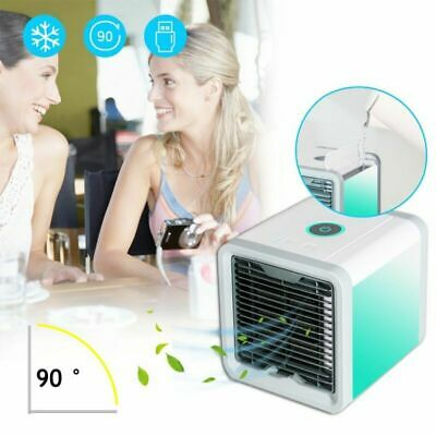 USB Mini Air Cool Fan VENTILATORE portatile Condizionatore Umidificatore PC HY1