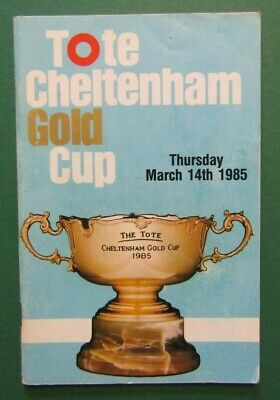 1985 Cheltenham Gold Cup - Won by Forgive & Forget, Half Free, Combs Ditch