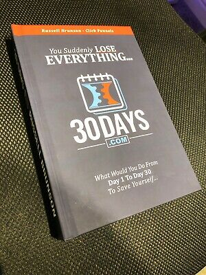 Russell Brunson ClickFunnels 30 Days One Funnel Away Book (Physical Book)