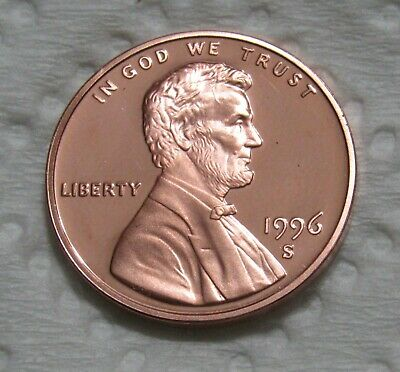 1996-S 1C Lincoln Memorial Cent - Proof