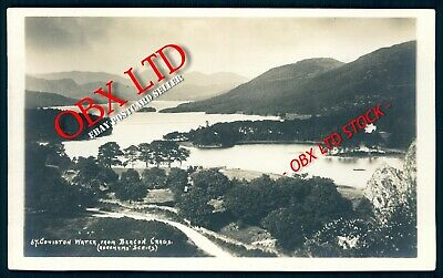 Coniston Water From Beacon Crags - Real Photo Postcard <03/54