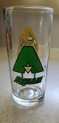Aquaman Nutella Promotional Collectable Glass