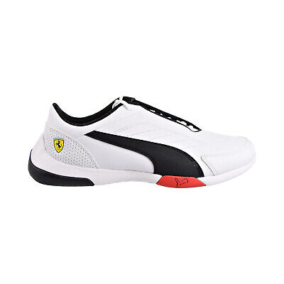 Puma Scuderia Ferrari Kart Cat III Mens Shoes Puma White-Puma Black 306219-03