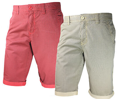 Pantaloncini Moda Uomo COVERI WORLD Cotone Bermuda Shorts 2 Colori Estate Mare