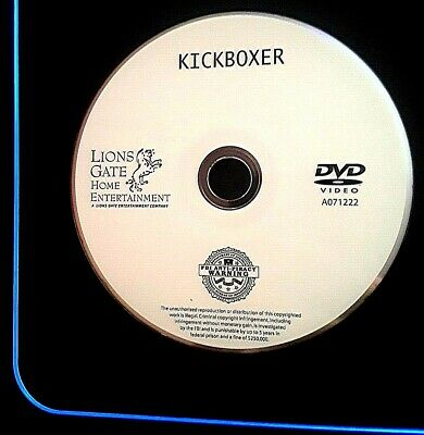 Kickboxer (DVD, 2003) Jean-Claude Vandamme Mark Di Salle DISC ONLY FREE SHIPPING