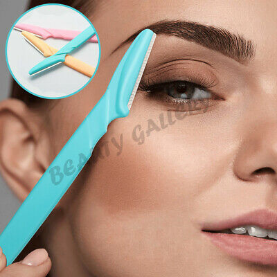 Womens 3Pack Eyebrow Shaver Face Hair Remover Lady Razor Trimmer Shaper