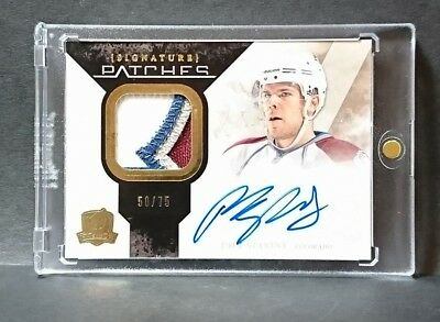 10-11 UD The Cup Rookie Signature Paul Stastny Auto Patch /75 SP