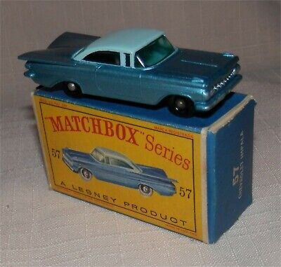 Matchbox Lesney 73 b Ferrari Racing Car empty Repro D style Box