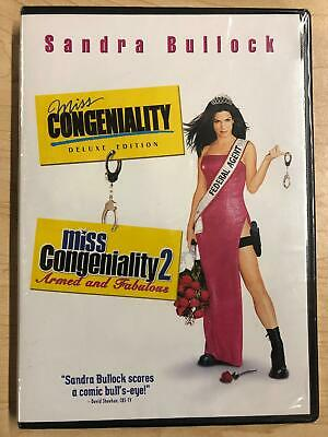 Miss Congeniality - Miss Congeniality 2 (DVD, double feature) - NEW19
