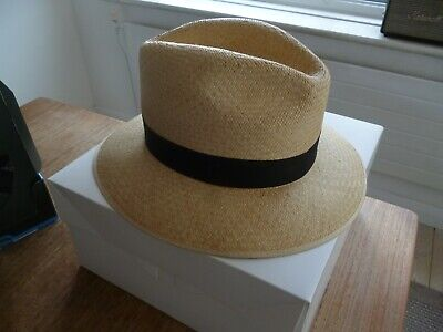 f98b3a8e Genuine Panama Hat Made In England Size Extra Large Xl Vintage Excellent  Cond.