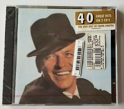 Frank Sinatra The Very Best of FRANK SINATRA 40 GREAT HITS on 2 CDs Brand New