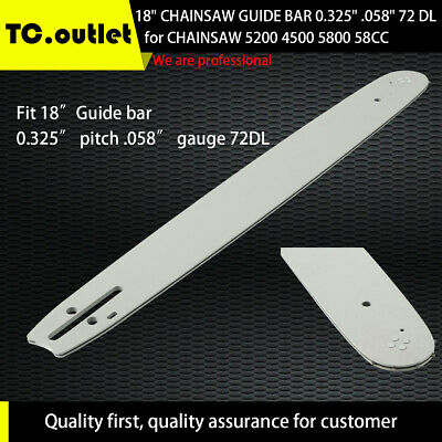 "2-Pack Replacement 14/"" Single Rivet Chainsaw Guide Bar for Craftsman 3416 3471"