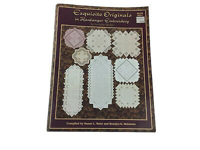 Exquisite Original In Hardanger Embroidery Pattern Booklet By Lorraine Skulski
