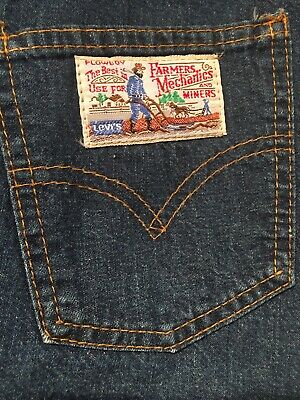 dce067ffc9 VINTAGE Ladies Levis PLOWBOY Farmers Mechanics and Miners Denim Jean 70s  SKIRT