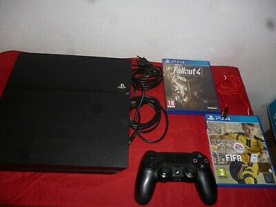 Ps4 Console 500Gb Playstation 4 Nera + Giochi _  Sony Play Station 4 _ Ps4