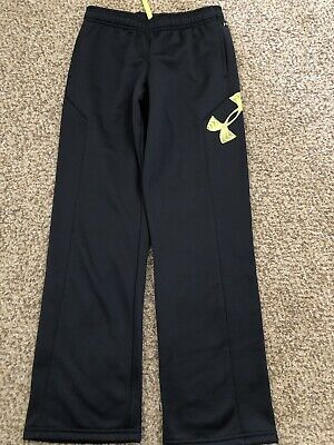 * Under Armour Boys/' ColdGear Infrared Fleece Pants Youth LG /& XL Blue Knight