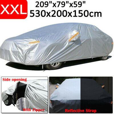 XXL Car Cover UV Resistance Anti Scratch Outdoor Indoor Dust Dirt Full Protector