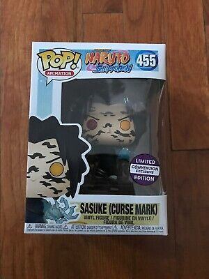 Funko Pop Naruto Shippuden 455 Sasuke Curse Mark Convention Exclusive