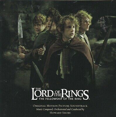 Howard Shore  The Lord Of The Rings: The Fellowship Of The Ring CD Enya