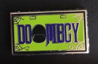 NEW Disney trading pin License Plate Haunted Mansion DOOMBGY Doombuggy WDW