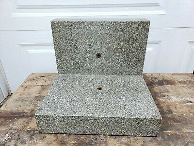"""Blanchette Tool & Gage Granite Angle Plate, 20"""" x 12"""" x 14"""""""