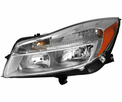 Fits For 2011 - 2013 Buick Regal Headlight (Halogen Only) Left Driver Side