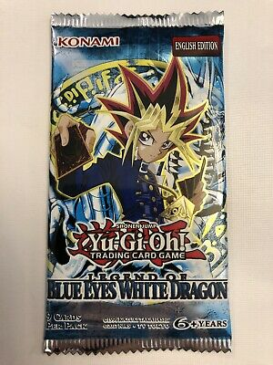 1x English Legend Of Blue Eyes Yu-Gi-Oh Booster Pack