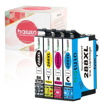 Free shipping From CA 4PK 288 XL Ink Cartridge For XP330 XP430 XP434 XP446