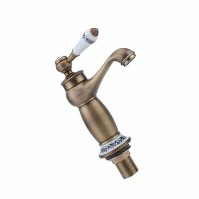 Vintage Single Lever Faucet Household Hot Cold Water Tap Kitchen Sink 87