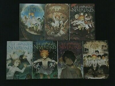 The Promised Neverland volumes 1-7