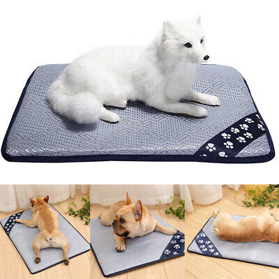 Pet Cat Dog Summer Cooling Mat Sleeping Blankets Ice Cushion For Pet House Bed