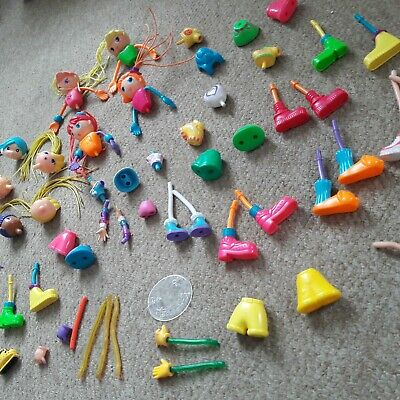 Two Betty Spaghetti Spaghetty Dolls Mcdonalds 2003 Collectables Other Dolls